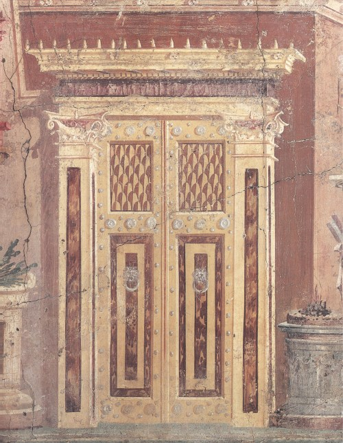 small resolution of romanhouse02 roman wall painting in the