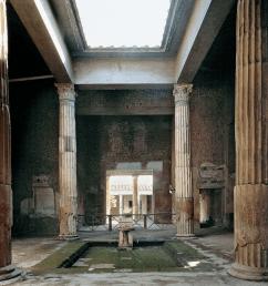 romanhouse03 romanhouse04 atrium of the house  [ 1604 x 1196 Pixel ]