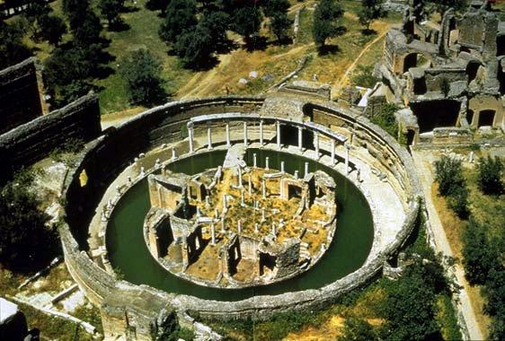 Maritime Theater Or Island Retreat At Hadrian S Villa