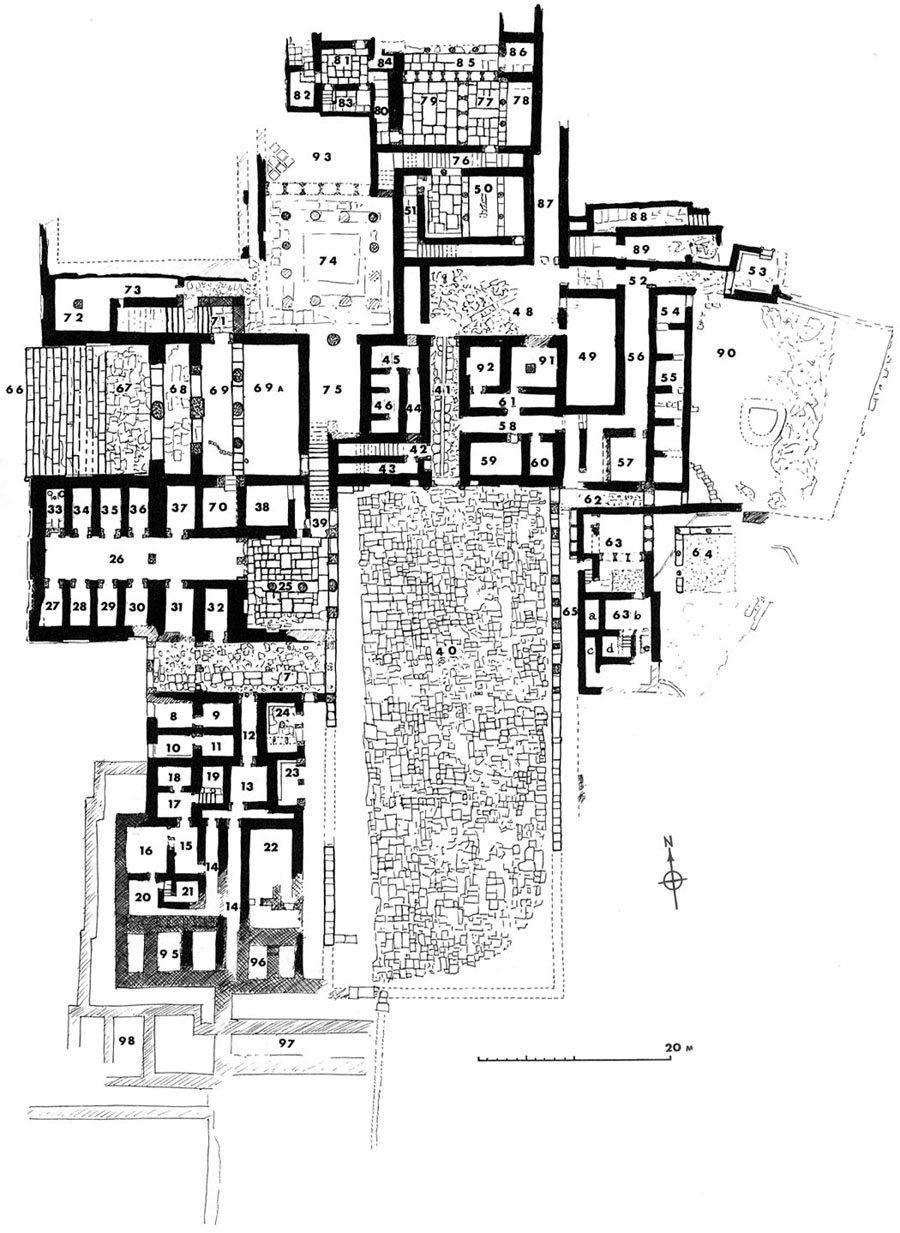 Minoan Architecture: The Palaces