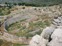 Mycenaean Residential Architecture Palaces And Ordinary