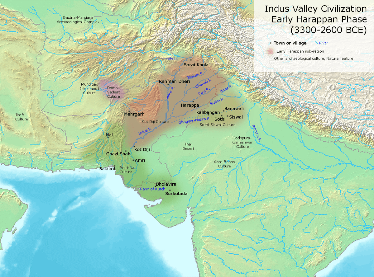 Rise Of The Indus Valley Ancient And Early Me Val India