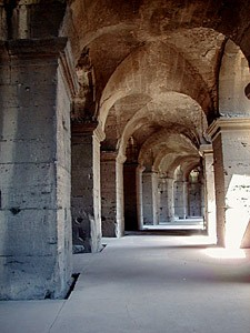 Engineering of the Flavian Ampitheatre Roman Colosseum