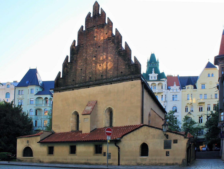 The Altneuschul Prague Medieval Jewish Synagogue