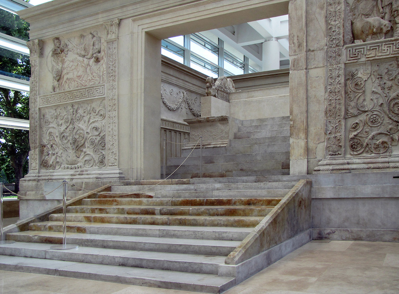 The Ara Pacis Augustae Altar of Augustan Peace