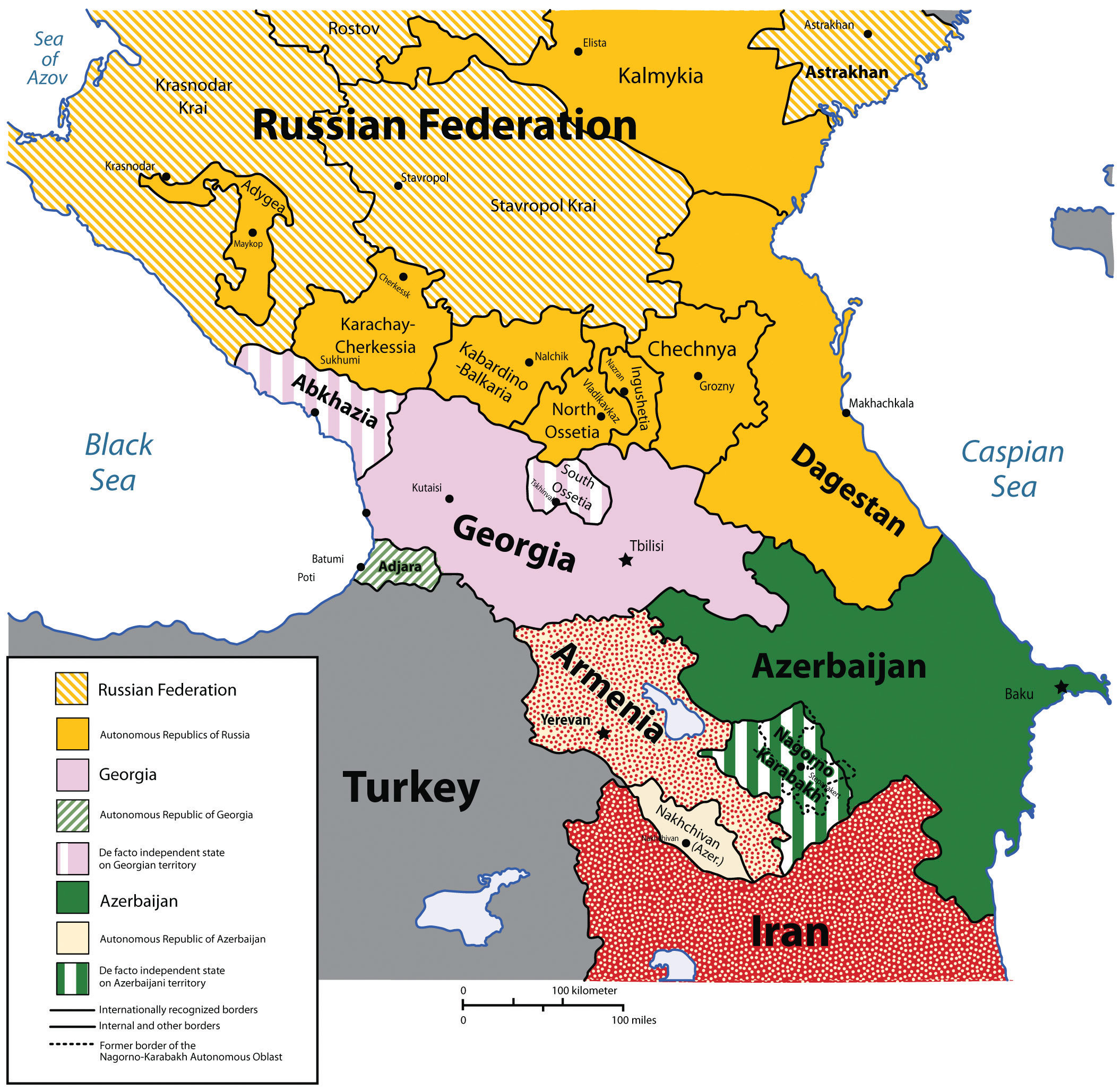 A Sociopolitical Geography Of Russia