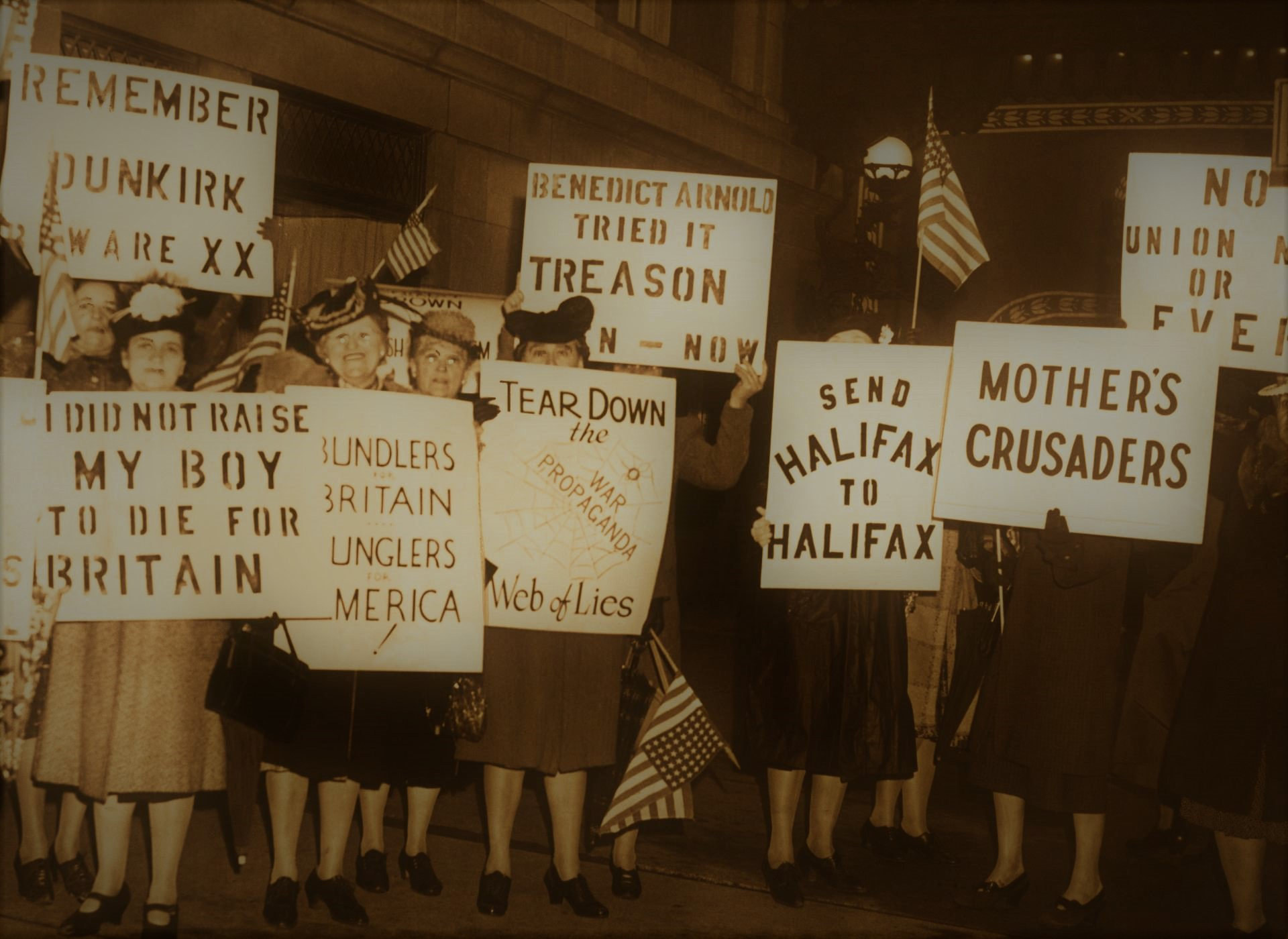 Americans And Isolationism During The Great Depression Of