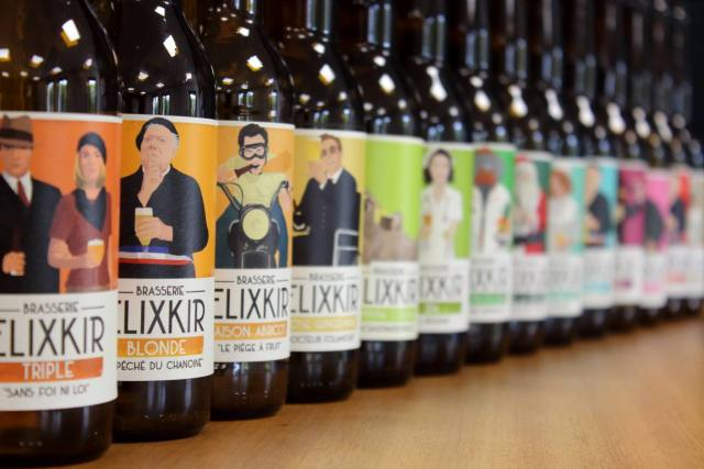 Les bières de la brasserie Elixkir