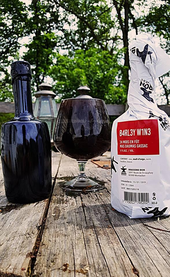 Barley Wine Iron Brewing