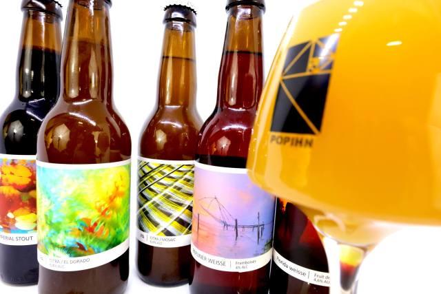 Les bières de la brasserie Popihn