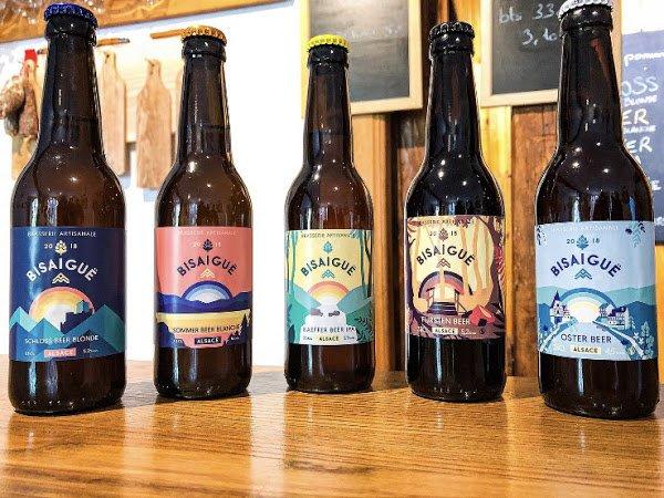 Bière brasserie Bisaigue