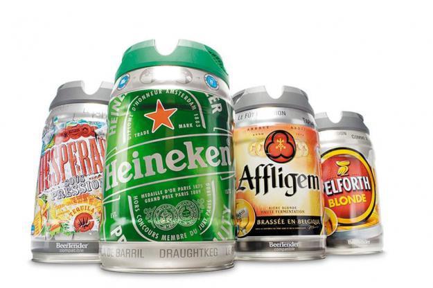 Fûts de type Beertender