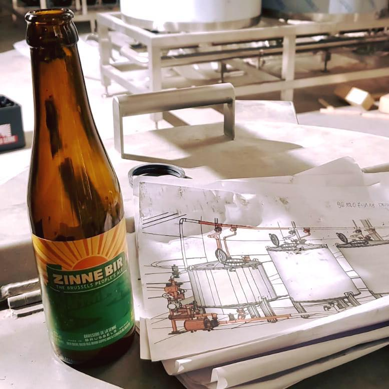 Les bières de la brasserie de la Senne