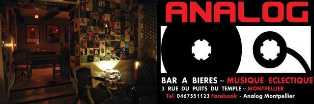 Analog Bar à bière Montpellier