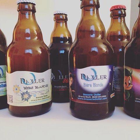 Bière blonde alsace brasserie Dioller