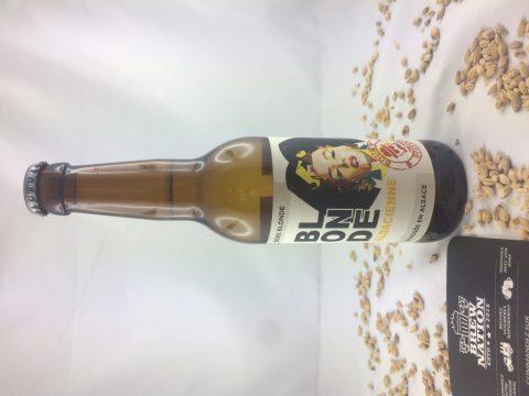 Bière blonde alsacienne brasserie Boum'r