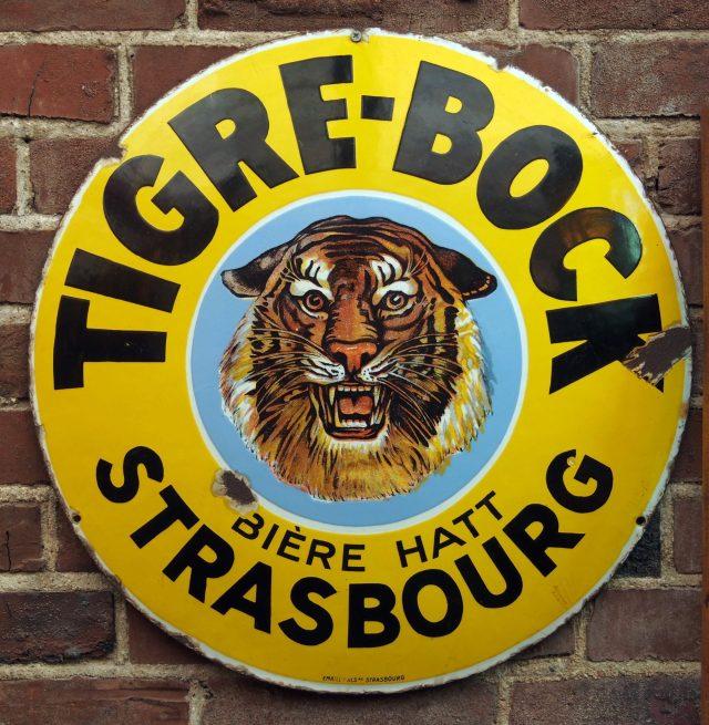 Tigre Bock de la brasserie Hatt