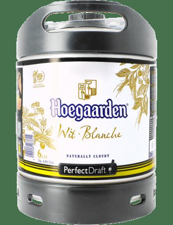 Fut compatible tireuse à bière perfectdraft Hoegaarden blanche