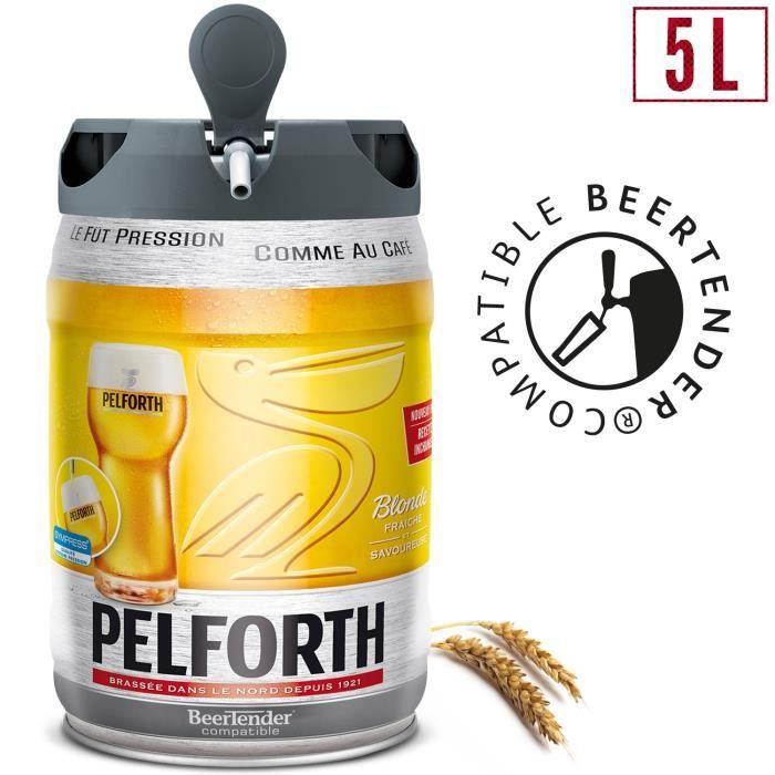 Fût de bière Beertender Pelforth