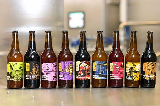 Gamme de Bière Hoppy road