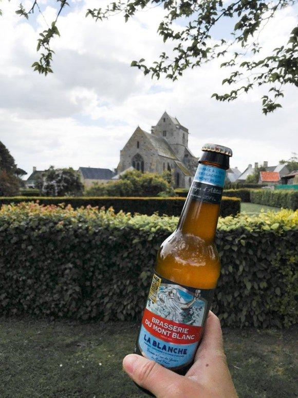 bière blanche brasserie du Mont blanc