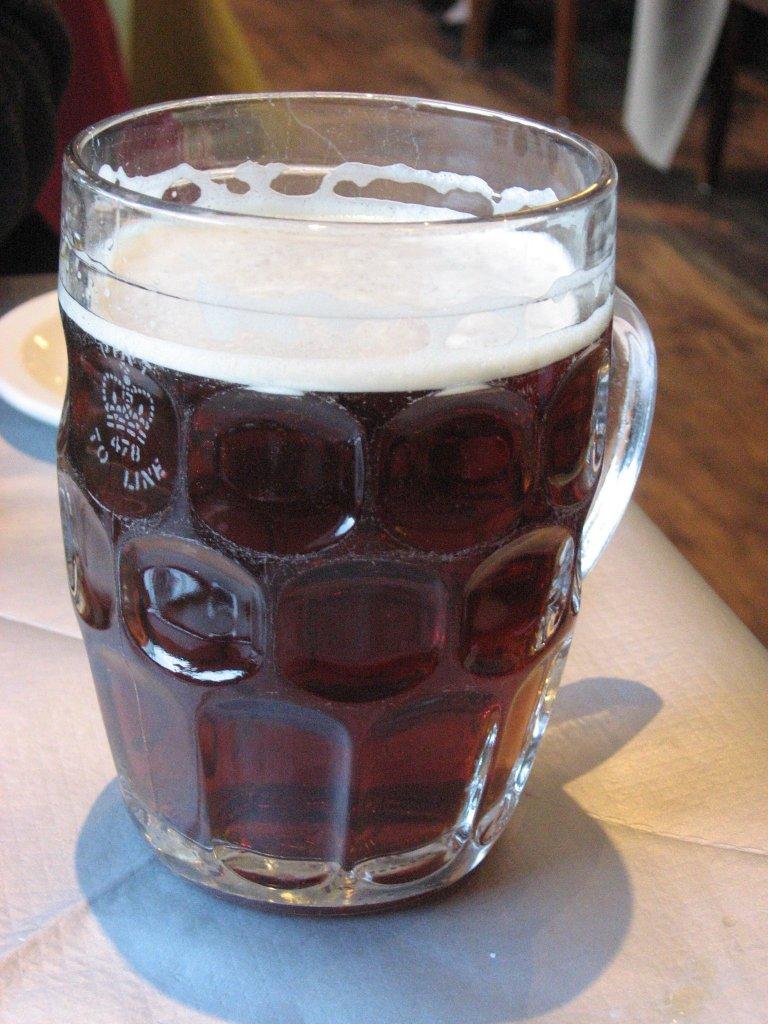 Chope verre à bière