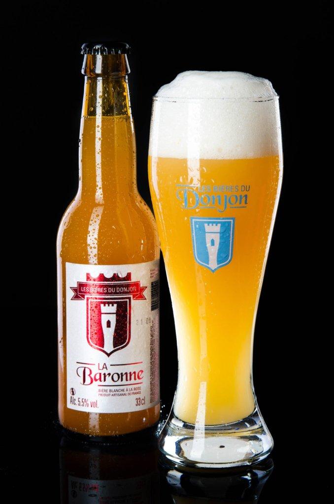 Bière la baronne brasserie les bières du Donjon