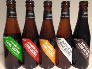 Gamme bière sans gluten Brasserie de Vezelay