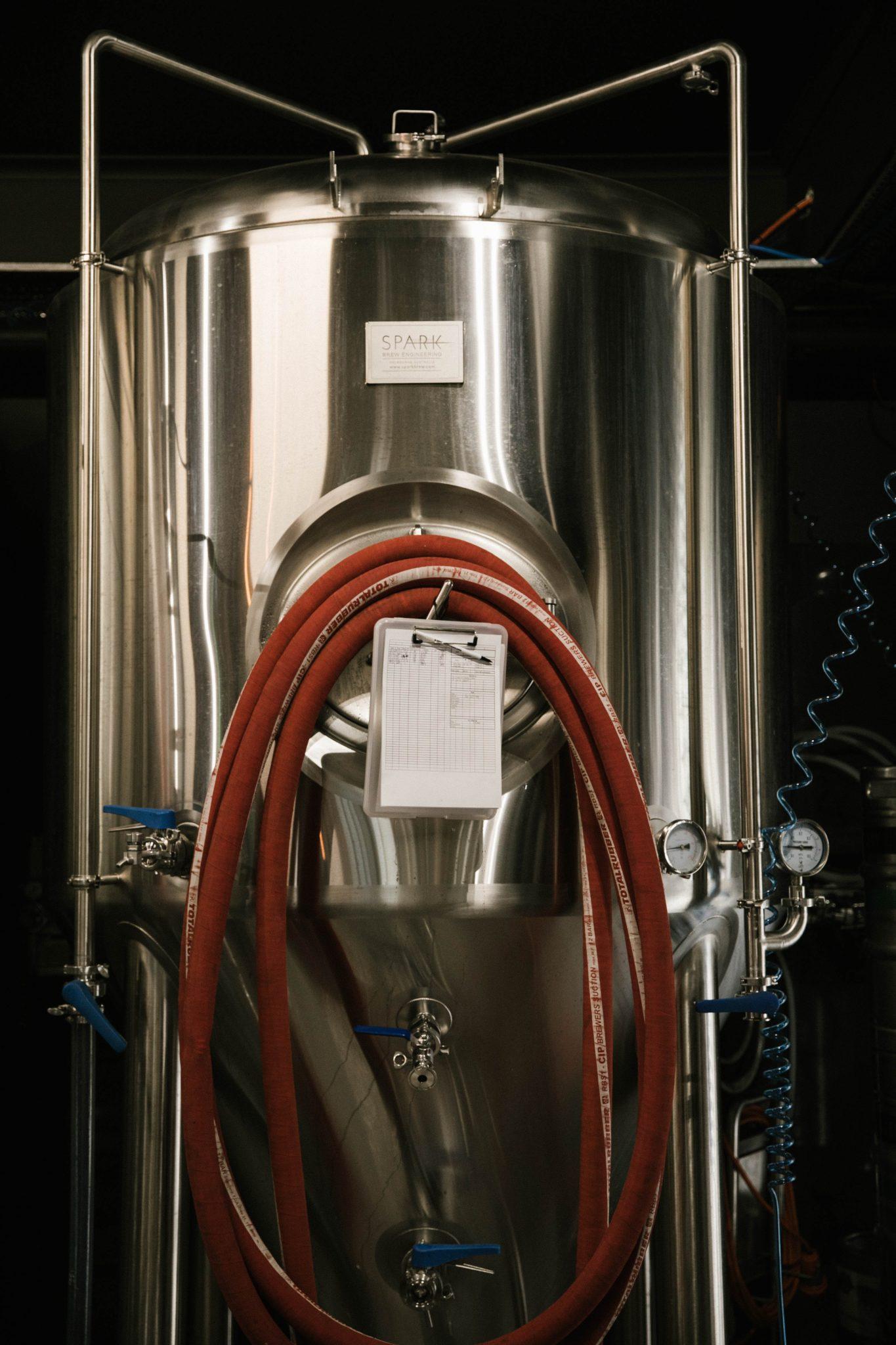 Tank fermentation bière