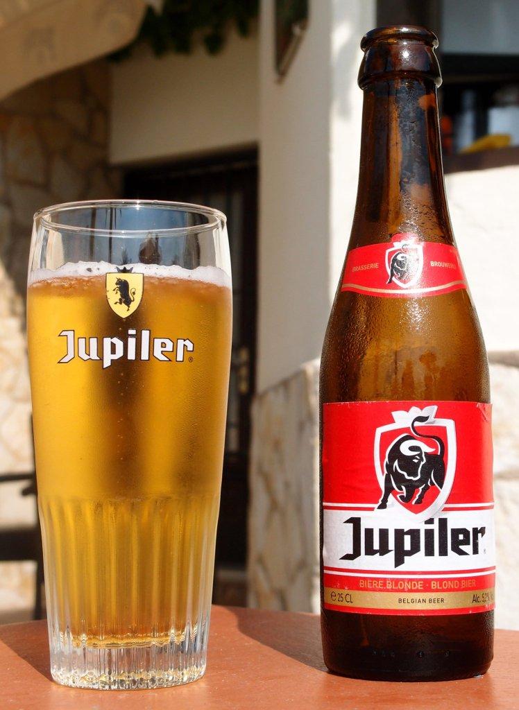 Marque de bière Jupiler