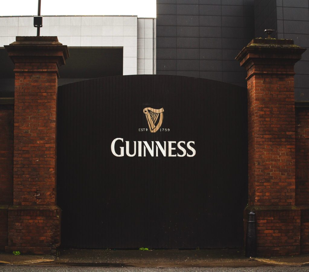 Entrée de la brasserie Guinness