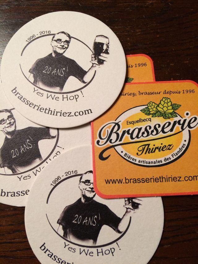 Sous bock Brasserie Thiriez