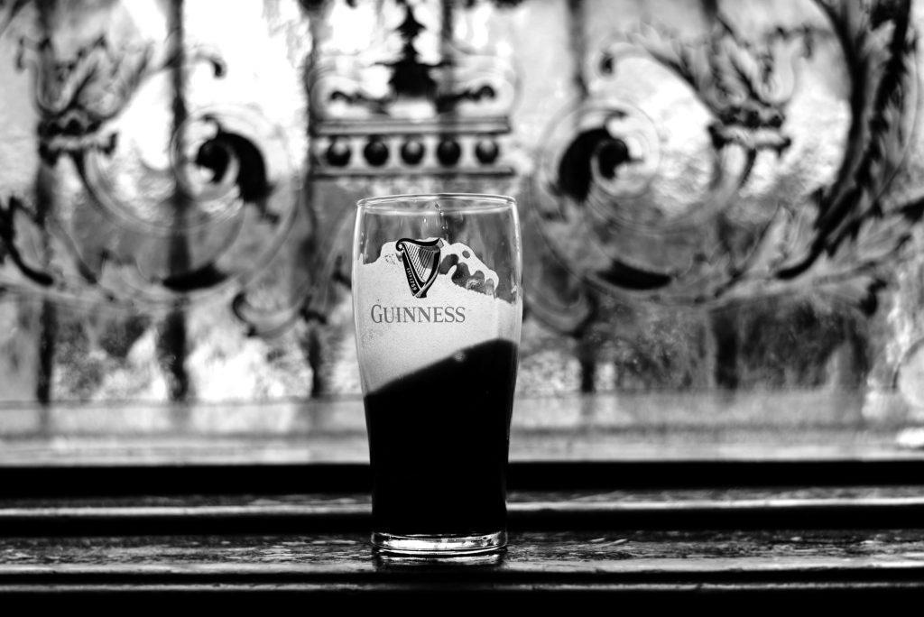 Marque de bière irlandaise Guinness