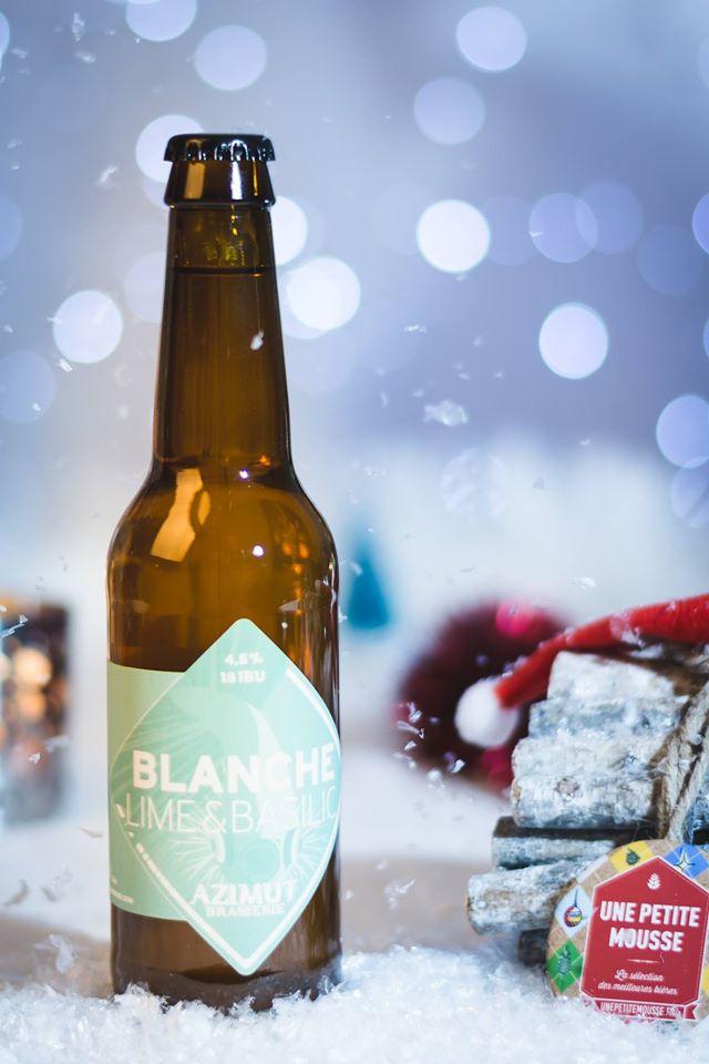 Bière Blanche Lime et Basilic brasserie
