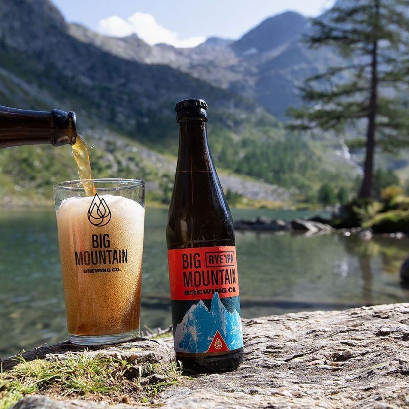 Bière Rye IPA Big Mountain Brewing Co