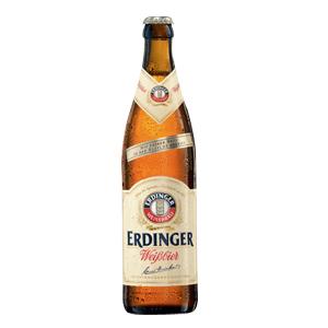 Bouteille bière Erdinger Hefeweizen