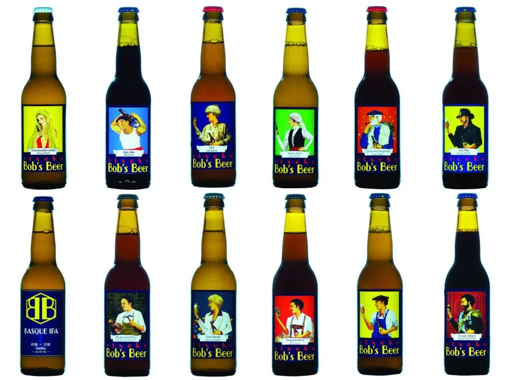 Gamme bière basque Etxeko Bob's Beer