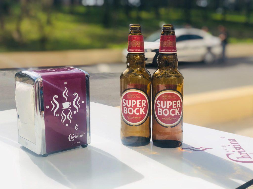 Bière portuguaise Superbock