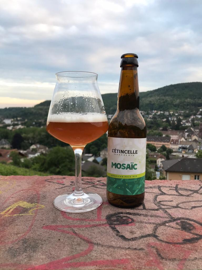 Bière l'étincelle Mosaic