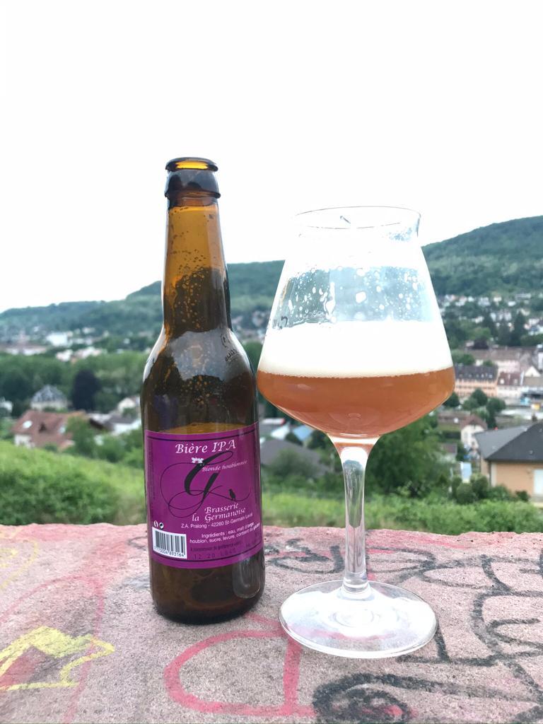 Bière IPA houblonnée