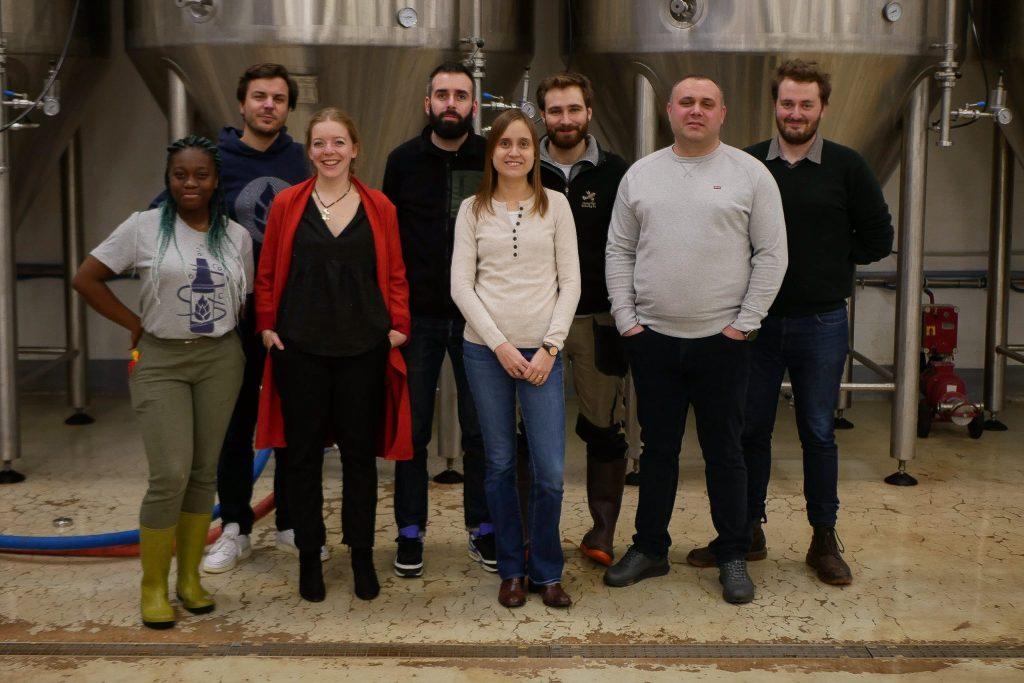 Equipe brasserie Donohue