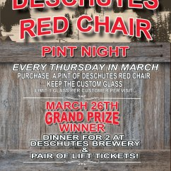 Red Chair Nwpa Ibu Where Can I Rent Tables And Chairs Deschutes Pint Night  Brewpublic