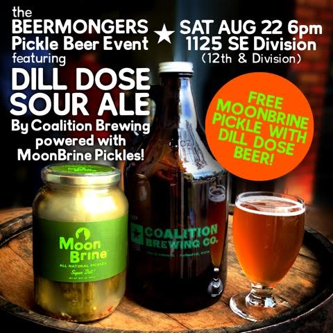 Coalition Dill Dose Beer And Pickle Tasting