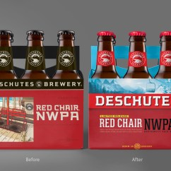 Red Chair Nwpa Abv Shower For Handicapped Deschutes Brewery Refreshes Its Packaging In 2019