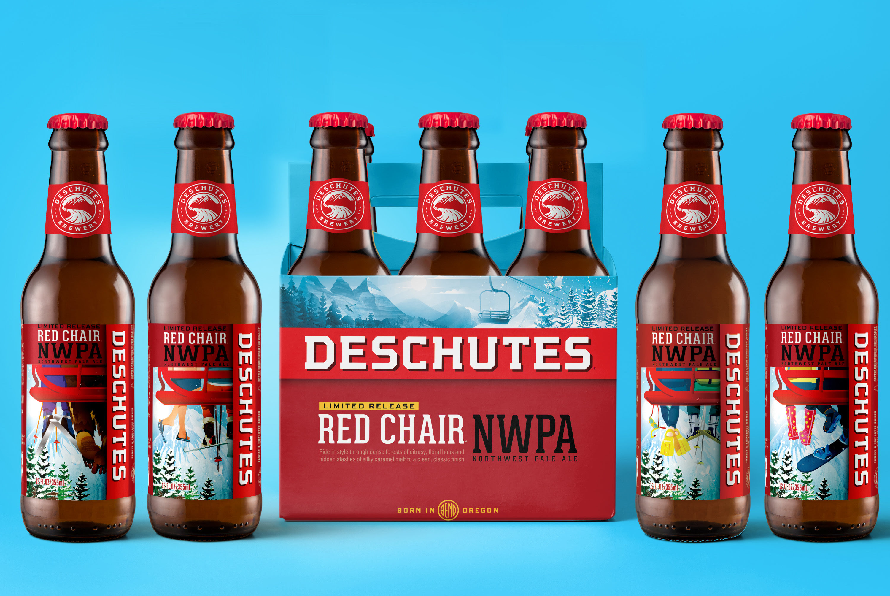 deschutes red chair nwpa beer advocate golden inc brewery refreshes its packaging in 2019