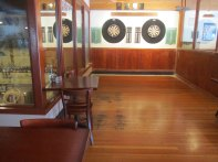 Photo of dart boards.