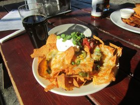 The nachos at happy hour is a good value a $7. Overall I would rank the mid level.