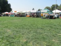 Some of the Craft & Vendor booths.