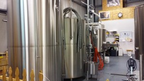 Brewing area at 54-40.