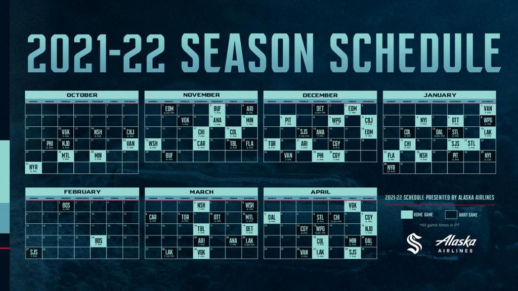 Kraken schedule